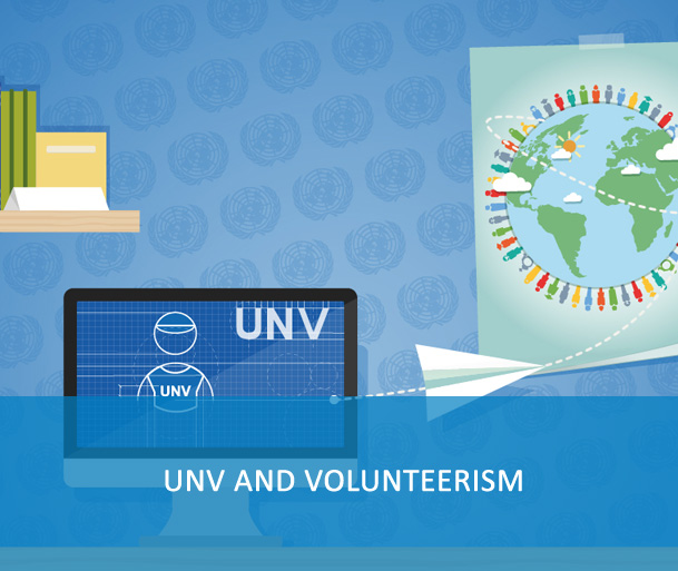 """E-Course:UNV and Volunteerism  - UN Volunteers must complete the training prior to departure to the duty station. Upon completion, update information on My Profile under """"Other Qualifications, short courses and trainings"""" in VMAM. Keep certificates of completion with you for record and spot check. This information is used to monitor and report on compliance."""