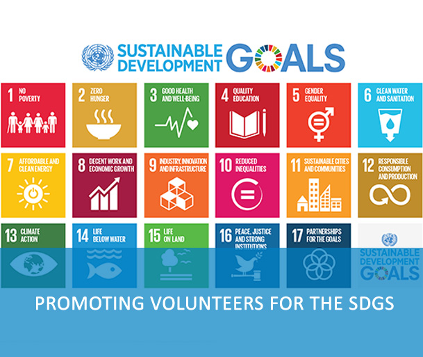 Promoting Volunteers for the SDGs