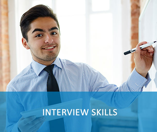 Interview skills - These resources guide you on how to articulate you experience and skills to best position yourself during an interview.