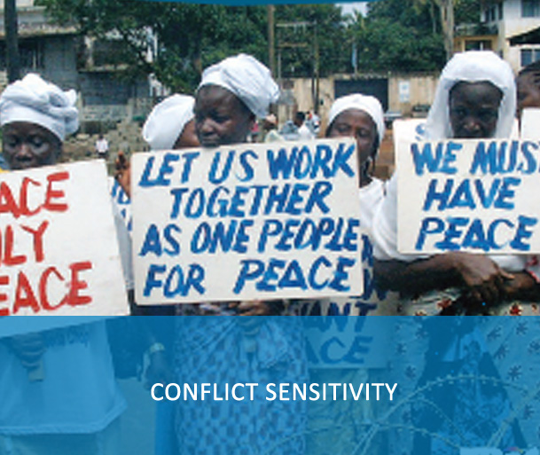 E-Course: Conflict Sensitivity Course - The UN Conflict Sensitivity course facilitates in-depth understanding and acquisition of hands-on skills to apply conflict-sensitive approaches in in humanitarian, development, peacebuilding and security activities of the UN.
