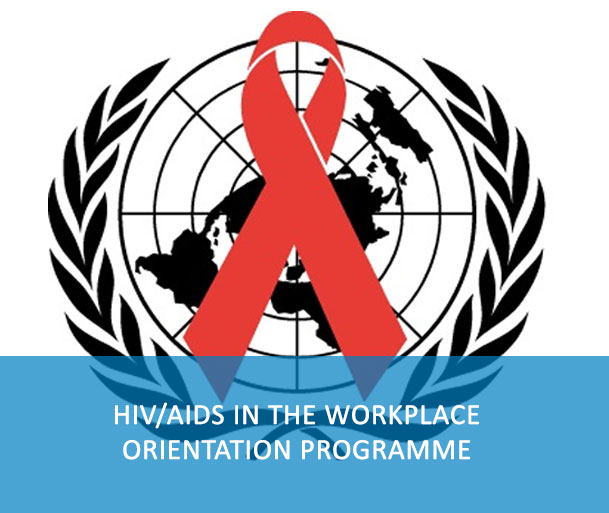 E-Course: Living in a World with HIV - This e-course contains the latest information on HIV as a workplace issue. It promotes awareness of UN system policies on HIV and provides people the tools to make informed decisions on HIV while ensuring a fair, equitable and respectful workplace for colleagues living with the virus. The e-course is intended to be a complement to the face-to-face mandatory orientation sessions that are offered to UN personnel around the world.