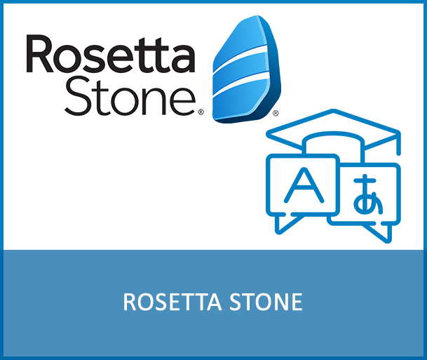 ROSETTA STONE - Expand your global opportunities by learning a new language! Rosetta Stone is one of the market leader in online language learning and offers courses from A1 to B1 in 24 different languages, including all official UN languages. The platform creates an intuitive and engaging environment, building the four key skills Speaking, Writing, Reading and Listening in a highly interactive approach via web browser or the app.