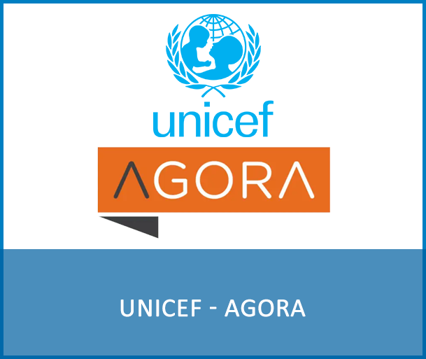 UNICEF - AGORA - UNICEF's Global Hub for learning and development. Its supports capacity building and career development through learning opportunities open to the general public.