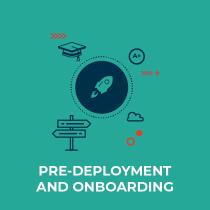 Pre-Deployment and onboarding - Discover here the learning opportunities