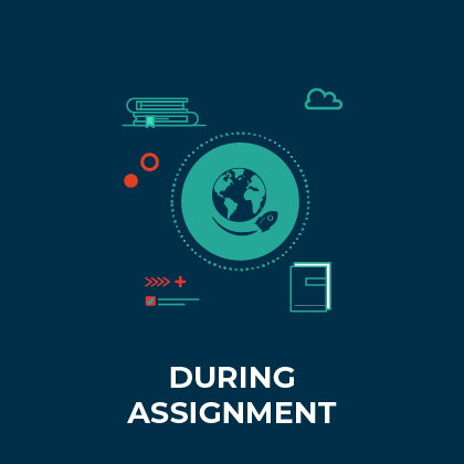 During Assignment - Discover here the learning opportunities