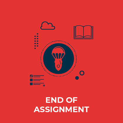 End of assignment - Discover here the learning opportunities