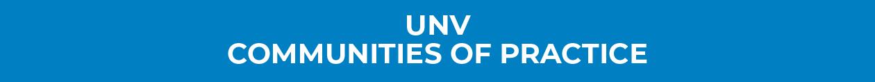 UNV Community of Practice