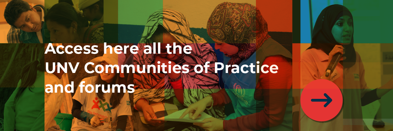 Access here all the UNV Communities of Practice and forums