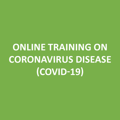Online training on coronavirus disease (COVID-19)