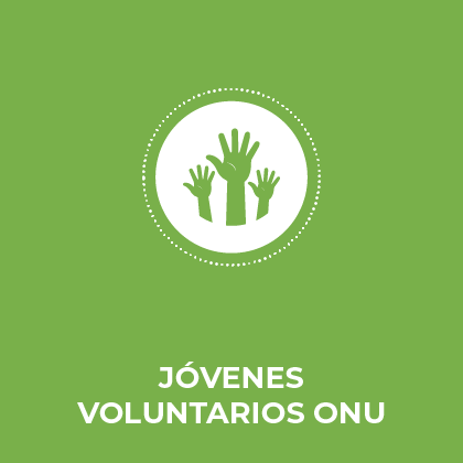 Jòvenes voluntarios ONU